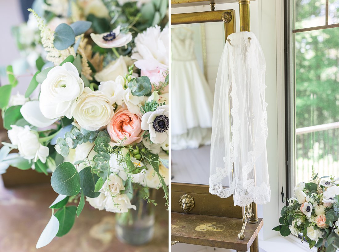 Fingertip veil, A Sage Green Summer Wedding at Le Belvedere