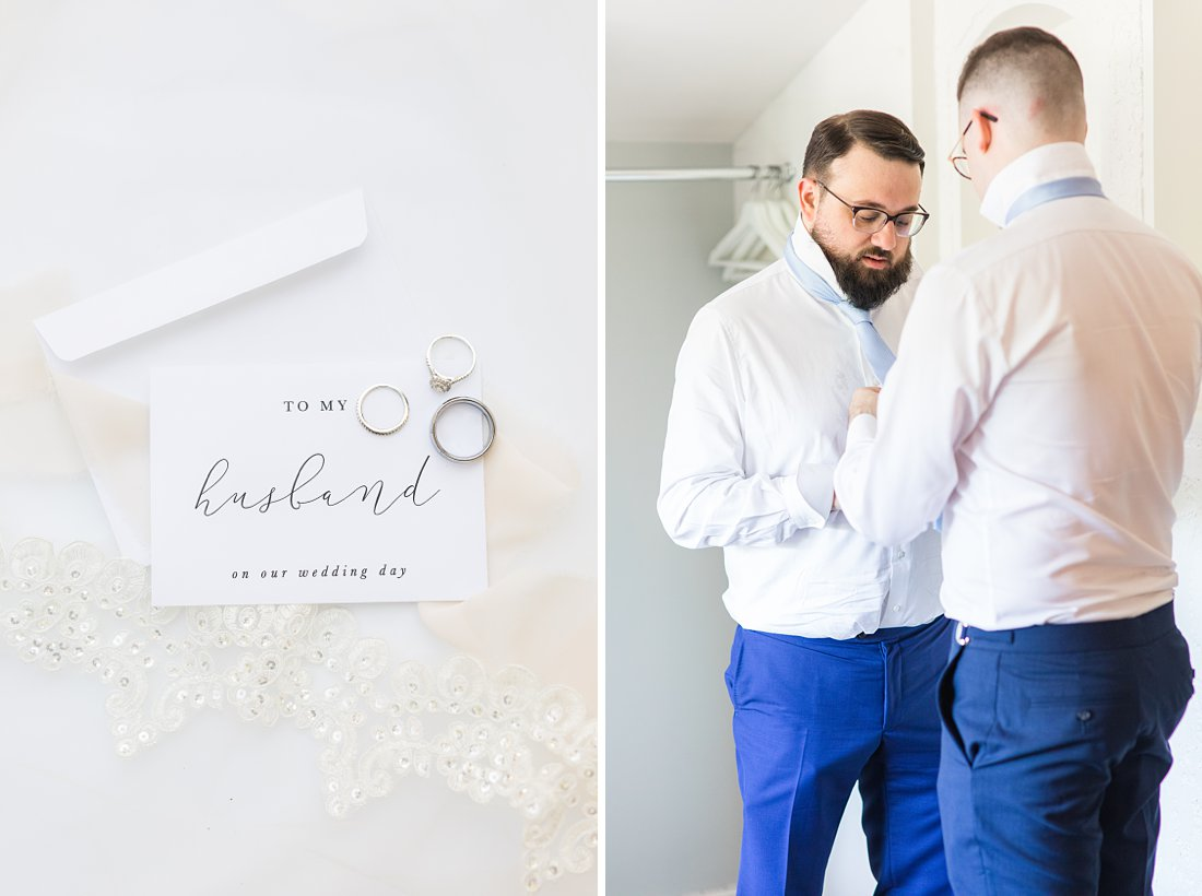 groom prep, wakefield grand, A Sage Green Summer Wedding at Le Belvedere