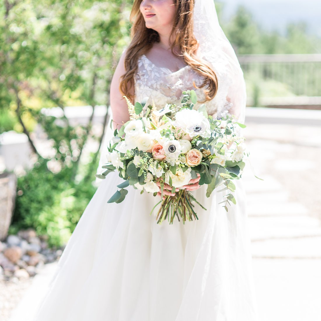 pollen nation bouquet, A Sage Green Summer Wedding at Le Belvedere