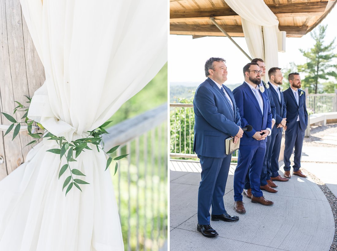 ceremony, Brian Ballinger, All seasons weddings, A Sage Green Summer Wedding at Le Belvedere