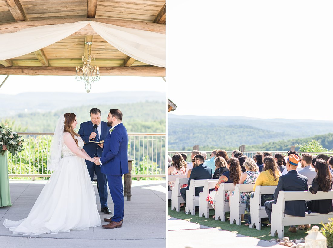 sunny ceremony, A Sage Green Summer Wedding at Le Belvedere