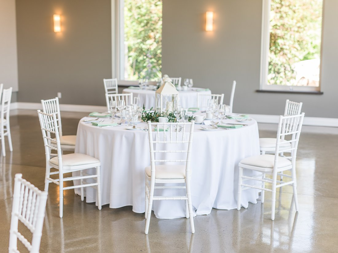 white chiavari chair, A Sage Green Summer Wedding at Le Belvedere