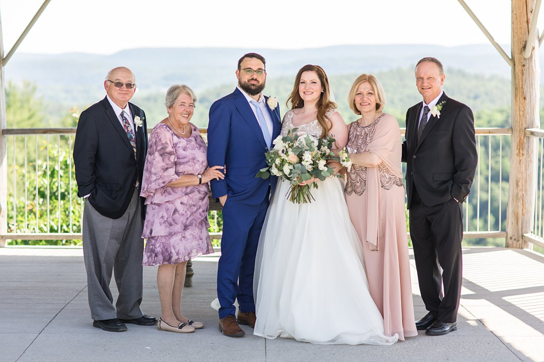 family photo, parents, A Sage Green Summer Wedding at Le Belvedere