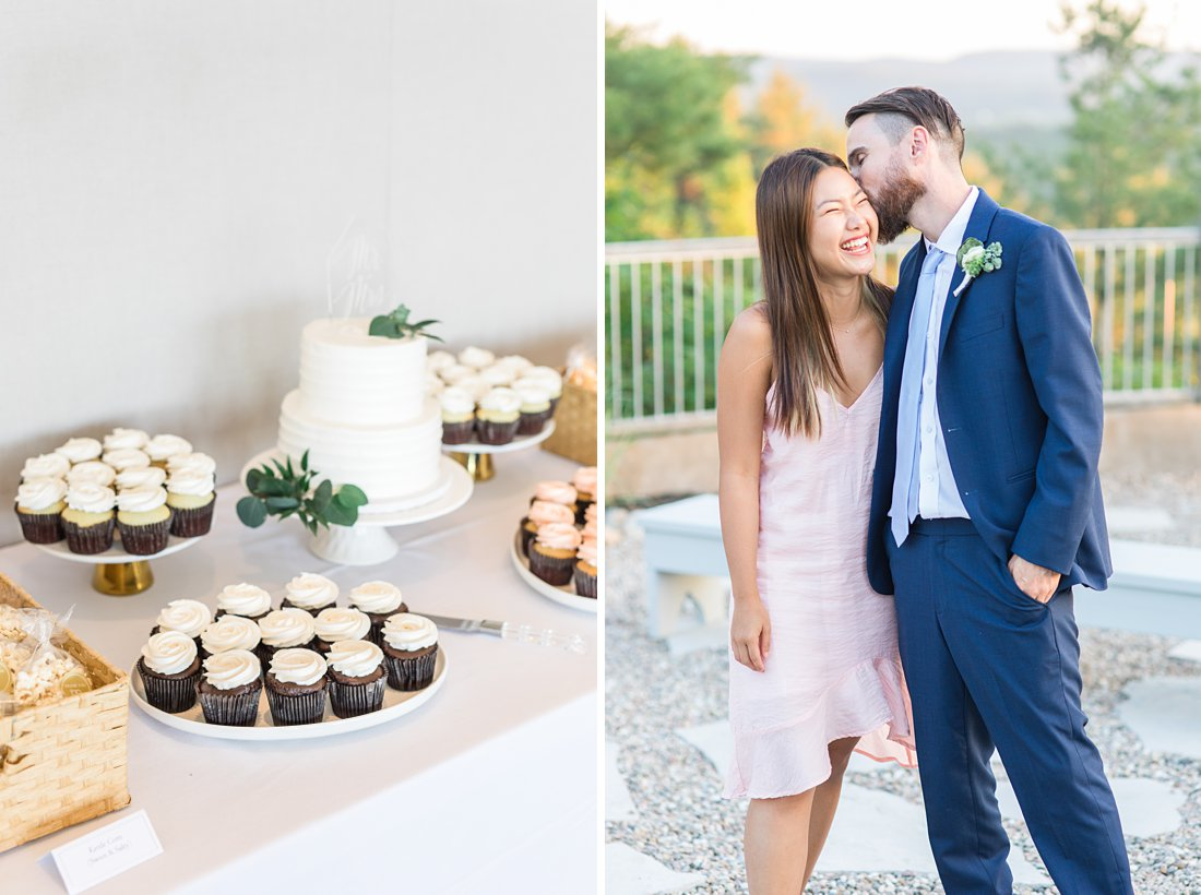 happy guests, candid, A Sage Green Summer Wedding at Le Belvedere
