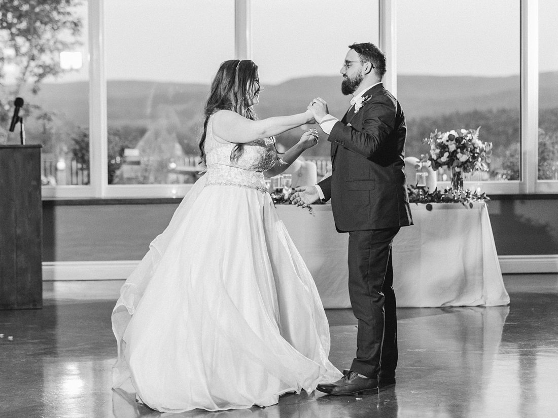 bride and groom, first dance, A Sage Green Summer Wedding at Le Belvedere