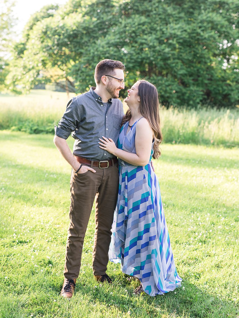 Happy couple, engagement, Hogs Back Ottawa engagement photos