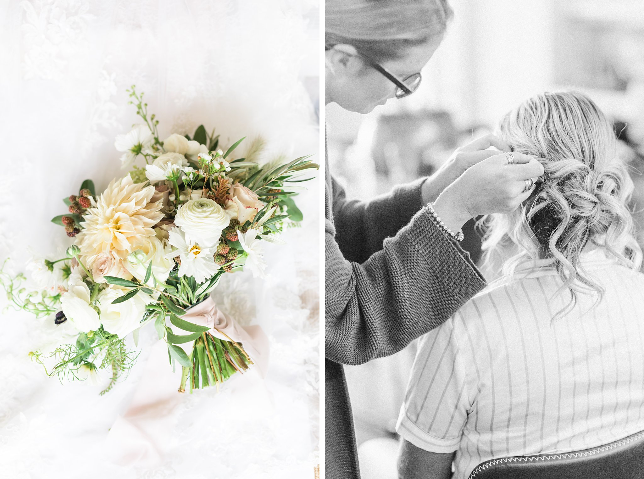 Topknot hair styling, Private Estate Wedding Photos, Amy Pinder Photography