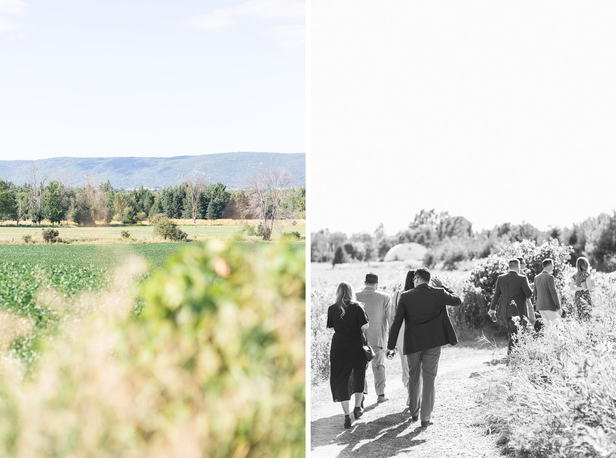 Walking to ceremony, Private Estate Wedding Photos, Amy Pinder Photography