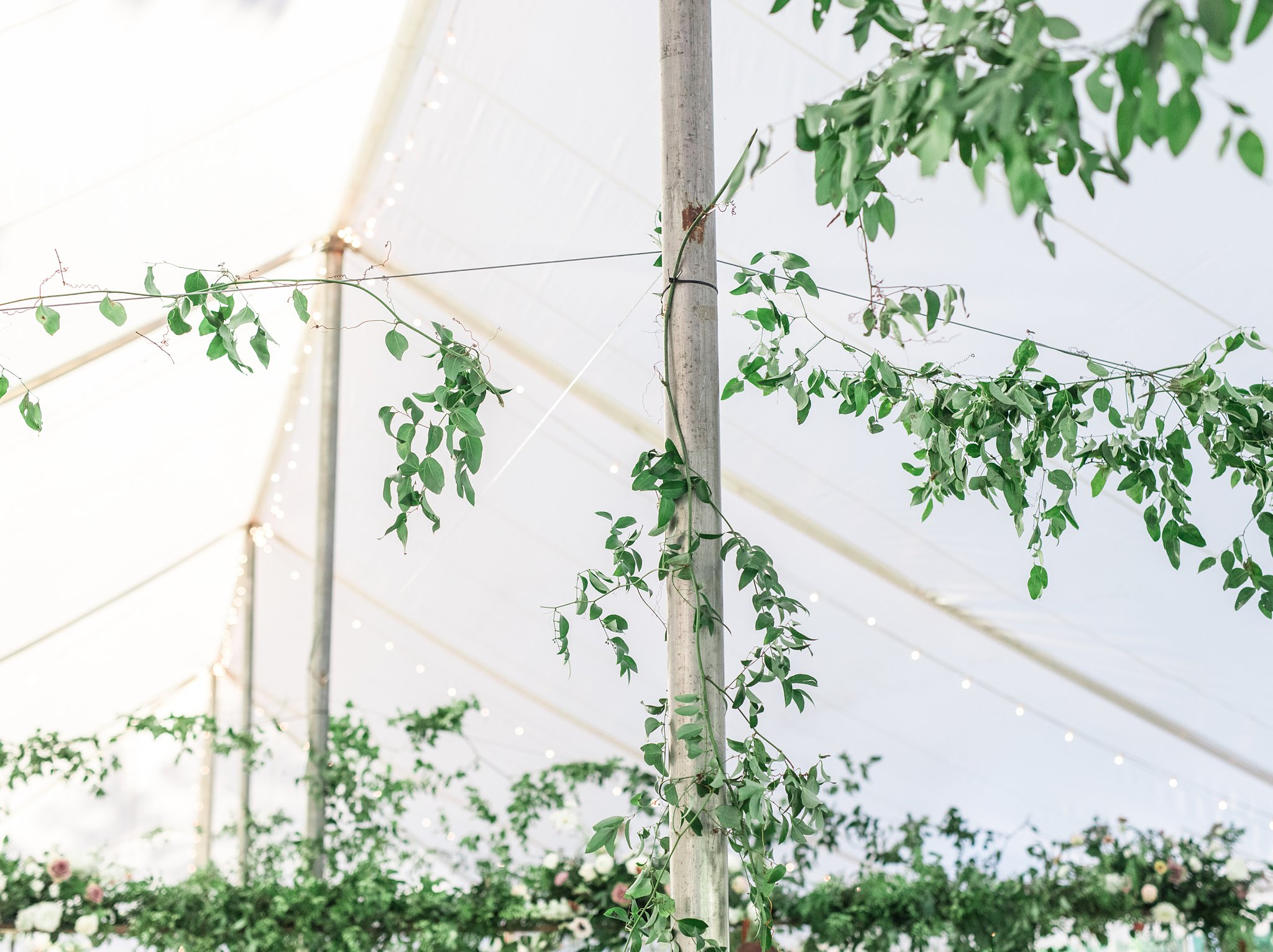 tent greenery, Private Estate Wedding Photos, Amy Pinder Photography