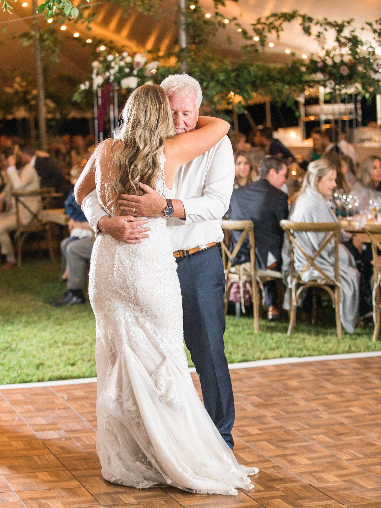 Daddy daughter dance, Private Estate Wedding Photos, Amy Pinder Photography