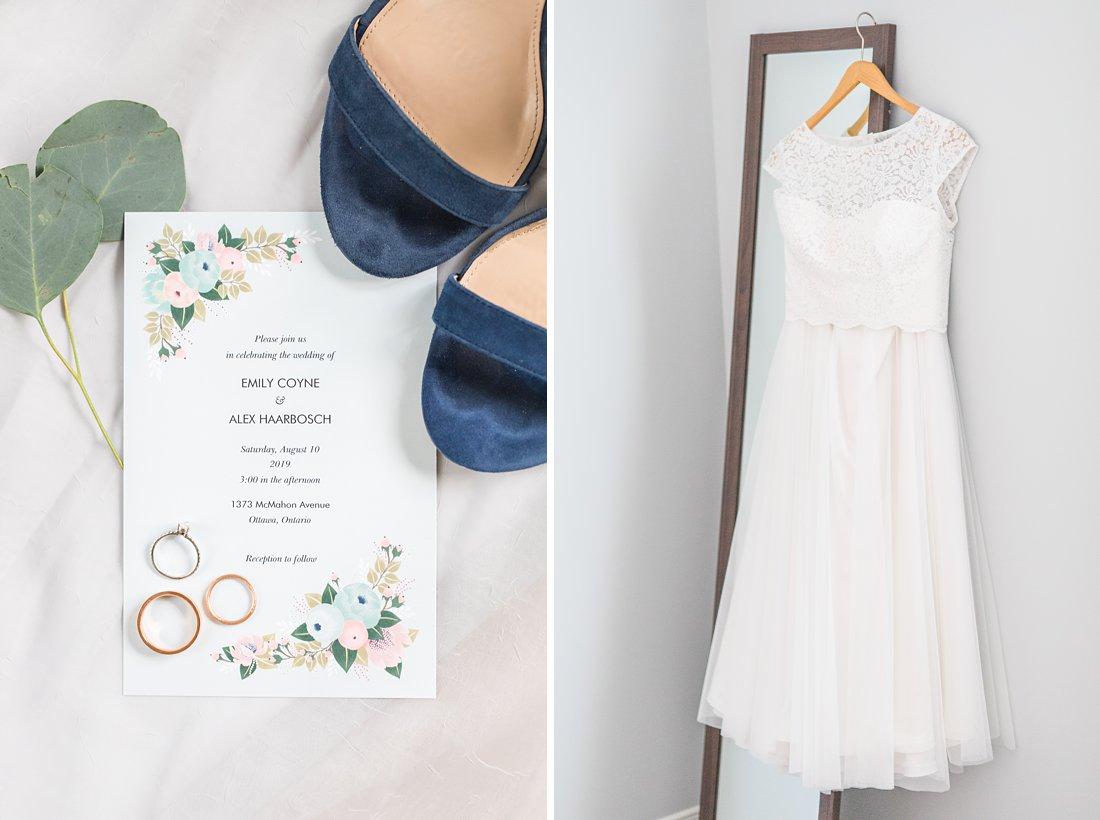 Two piece wedding dress, Social Restaurant Wedding Photos Ottawa