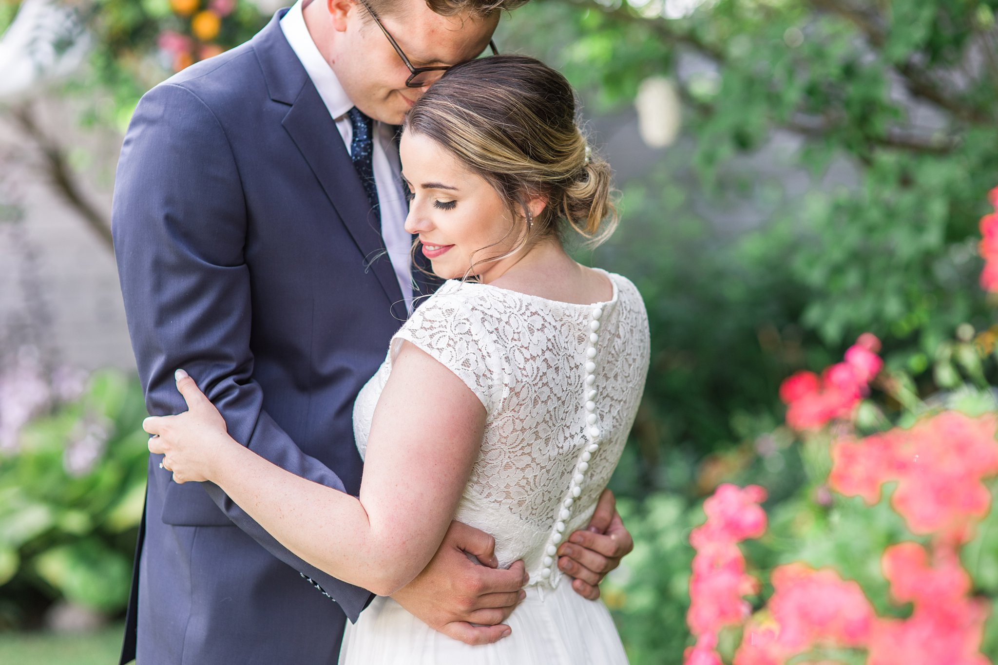 Two piece wedding dress, With Love Bridal Boutique, Social Restaurant Wedding Photos Ottawa