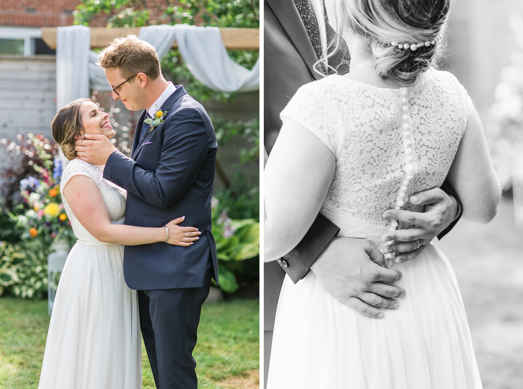 Soft and romantic wedding photos, Social Restaurant Wedding Photos Ottawa