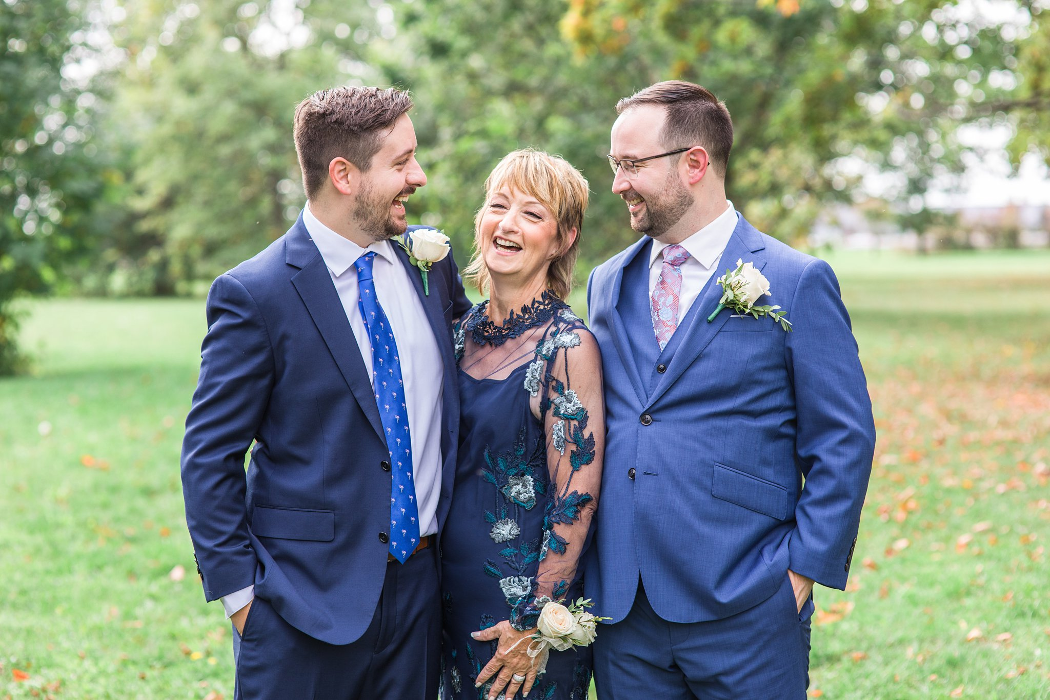 Blue mother of the bride dress, blue suit, Britannia Yacht Club Wedding Photos, Amy Pinder Photography