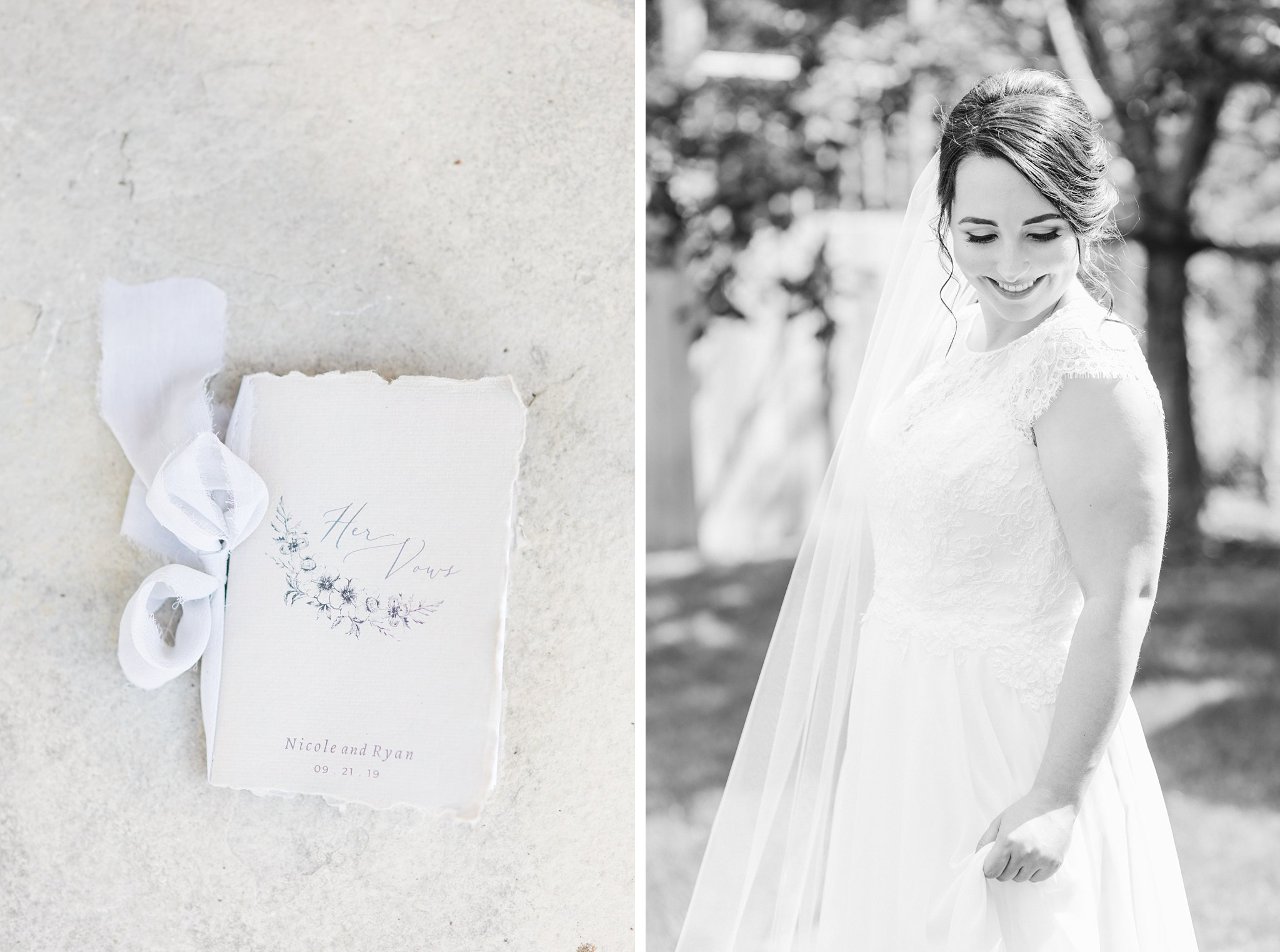Letter from the groom, Britannia Yacht Club Wedding Photos, Amy Pinder Photography