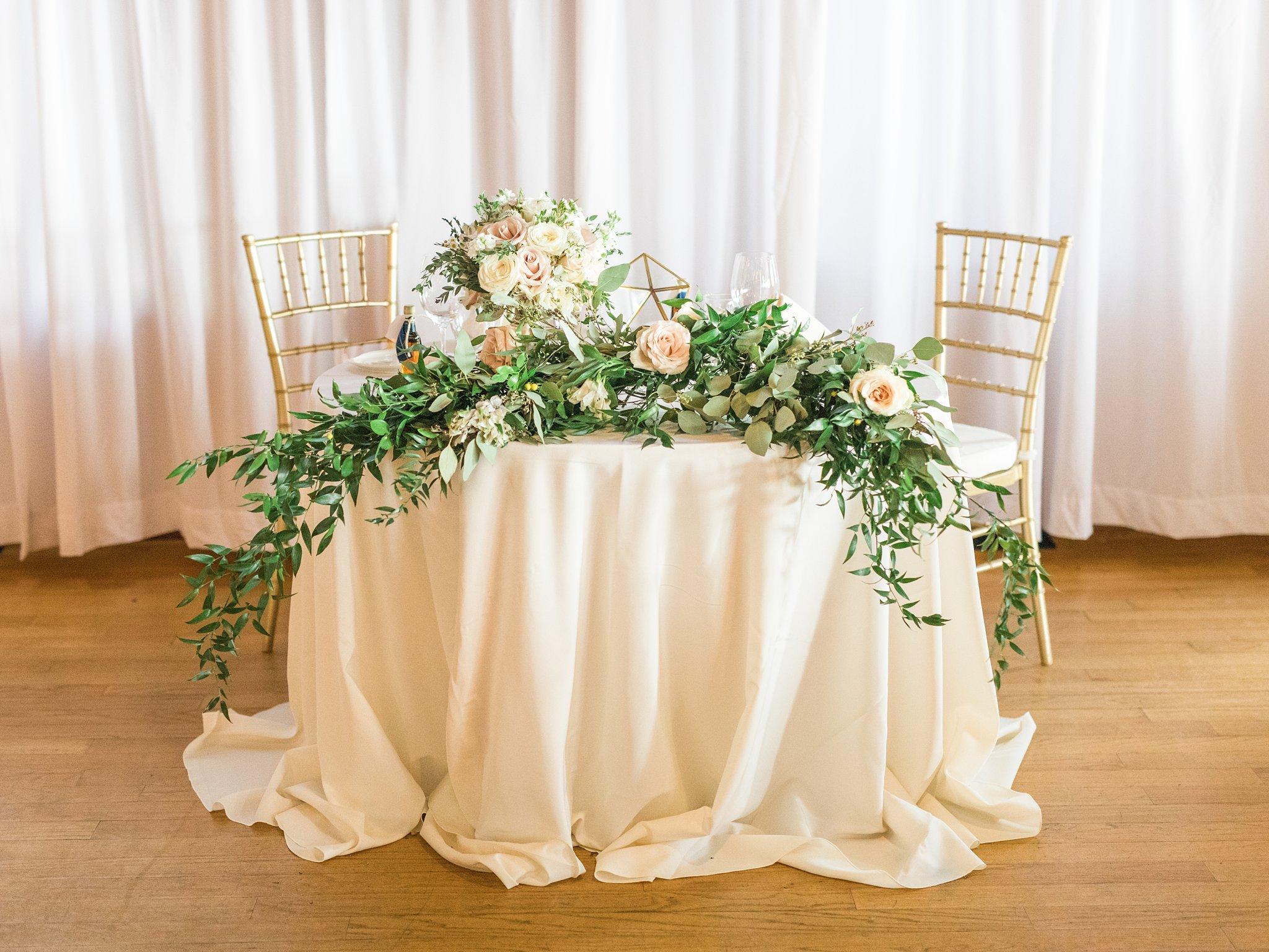 Sweetheart table, Britannia Yacht Club Wedding Photos, Amy Pinder Photography