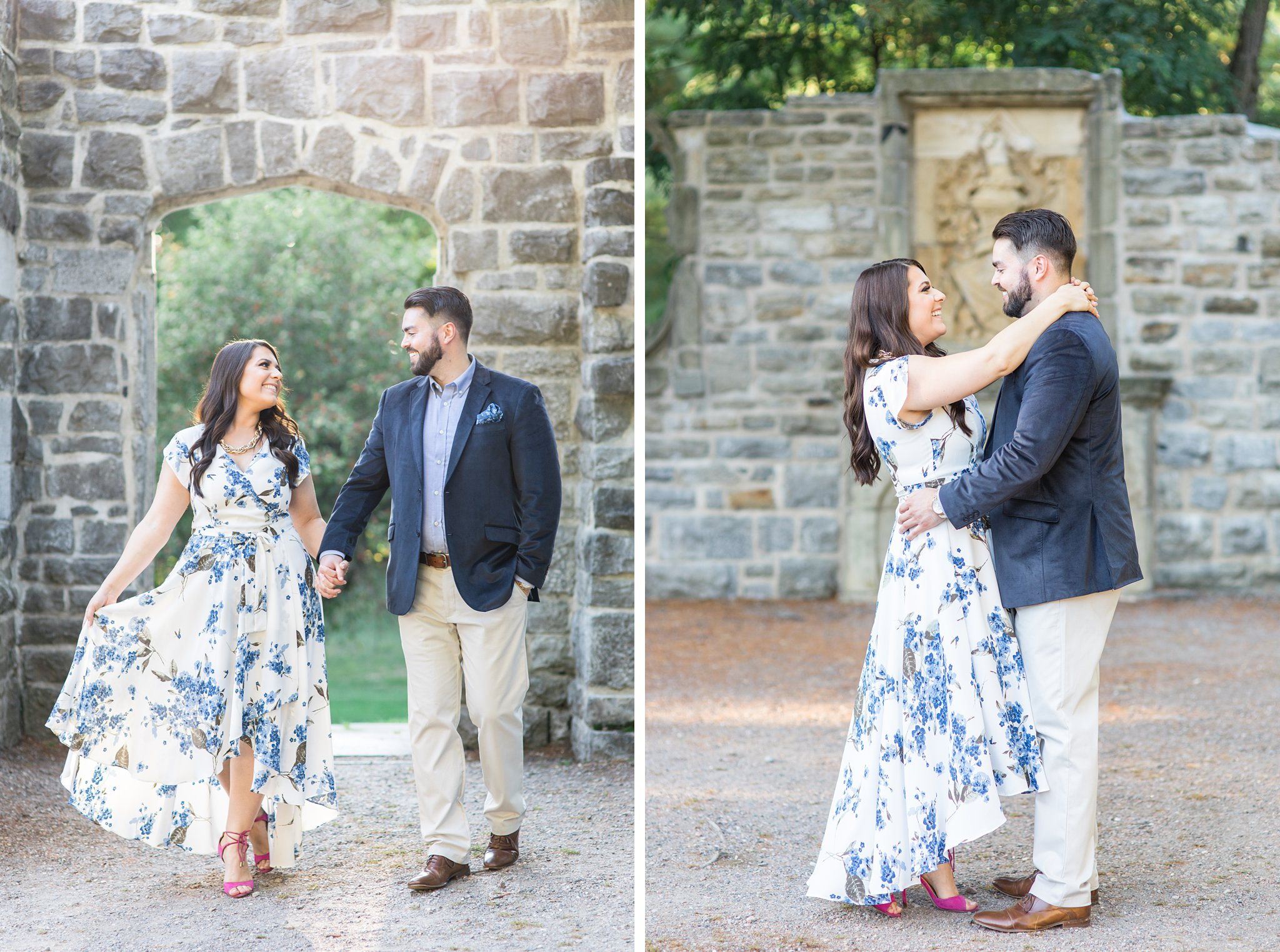The ruins of Mackenzie King Estate, Mackenzie King Estate Engagement Photos by Amy Pinder Photography