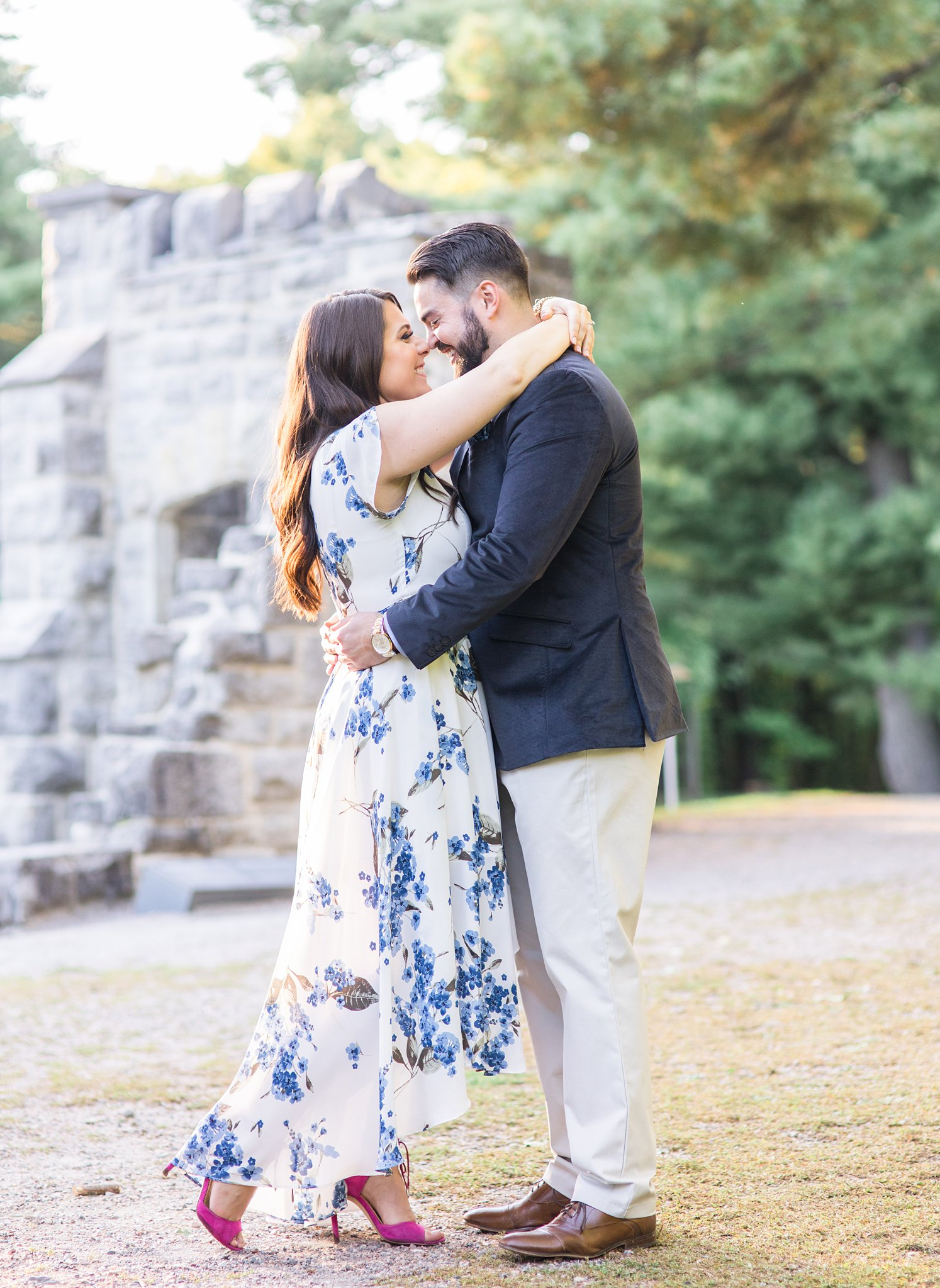 Ruins at Mackenzie King Estate, Mackenzie King Estate Engagement Photos by Amy Pinder Photography