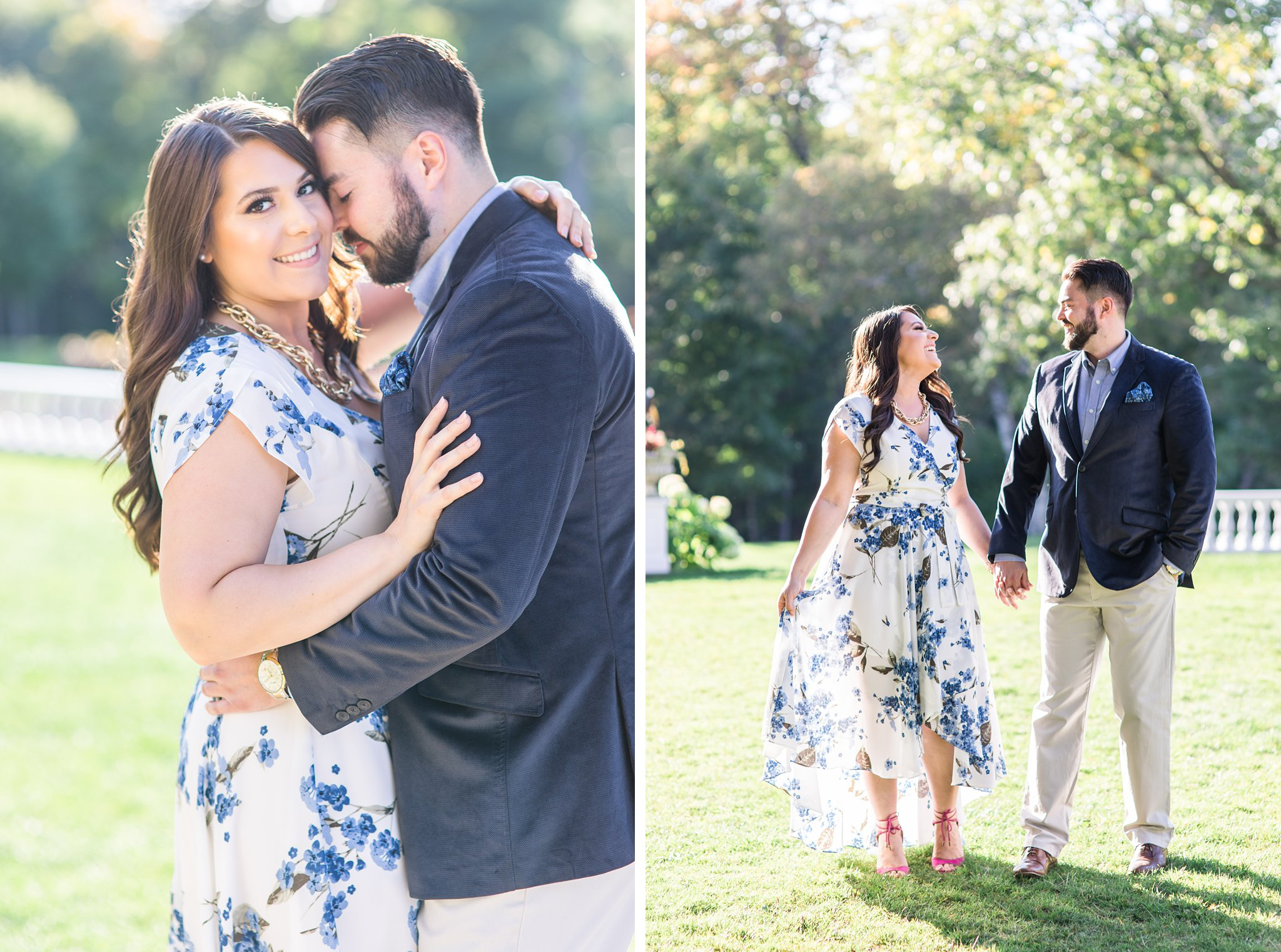 Formal outfit, Mackenzie King Estate Engagement Photos by Amy Pinder Photography