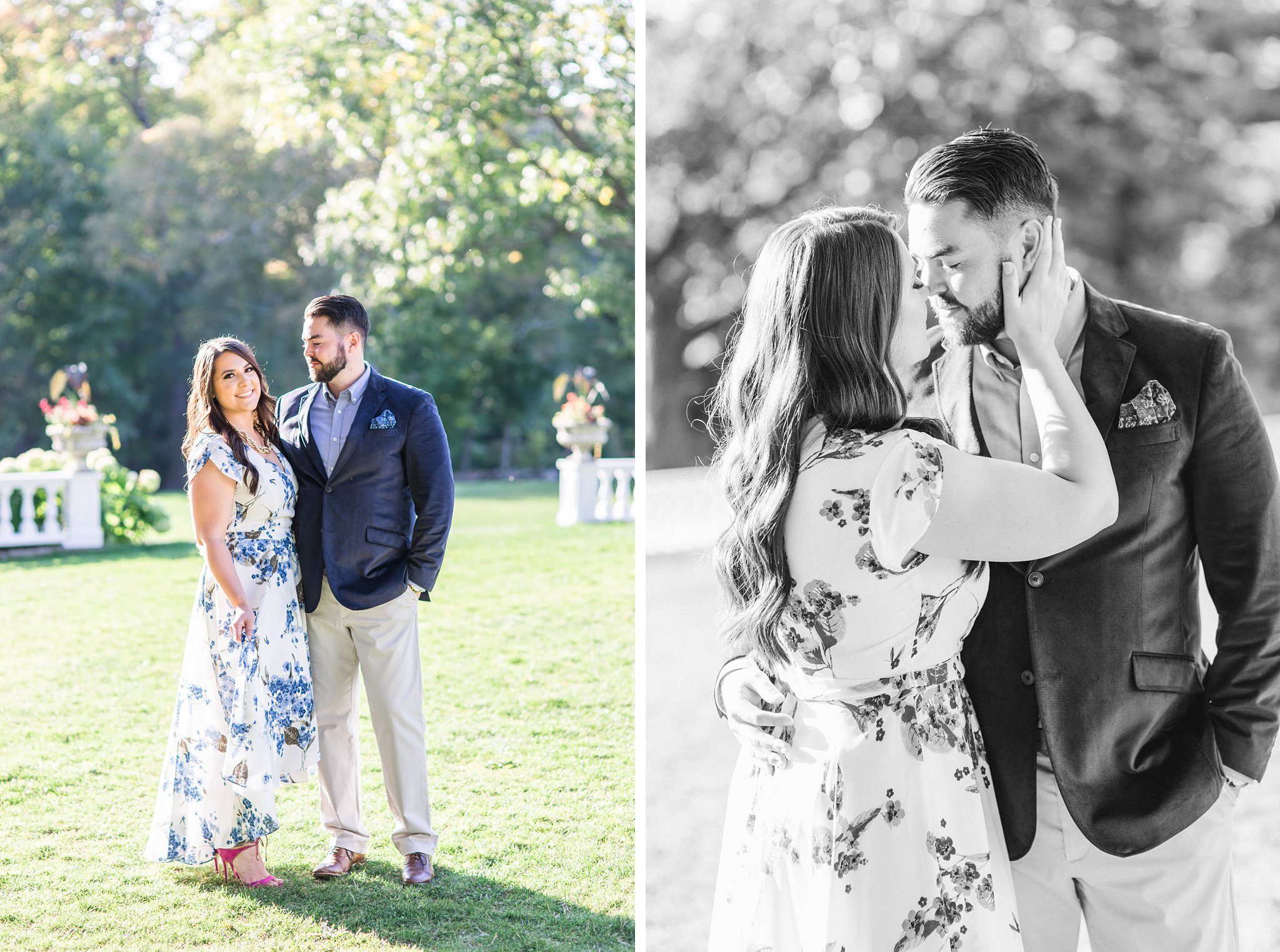 Mackenzie King Estate Engagement Photos by Amy Pinder Photography