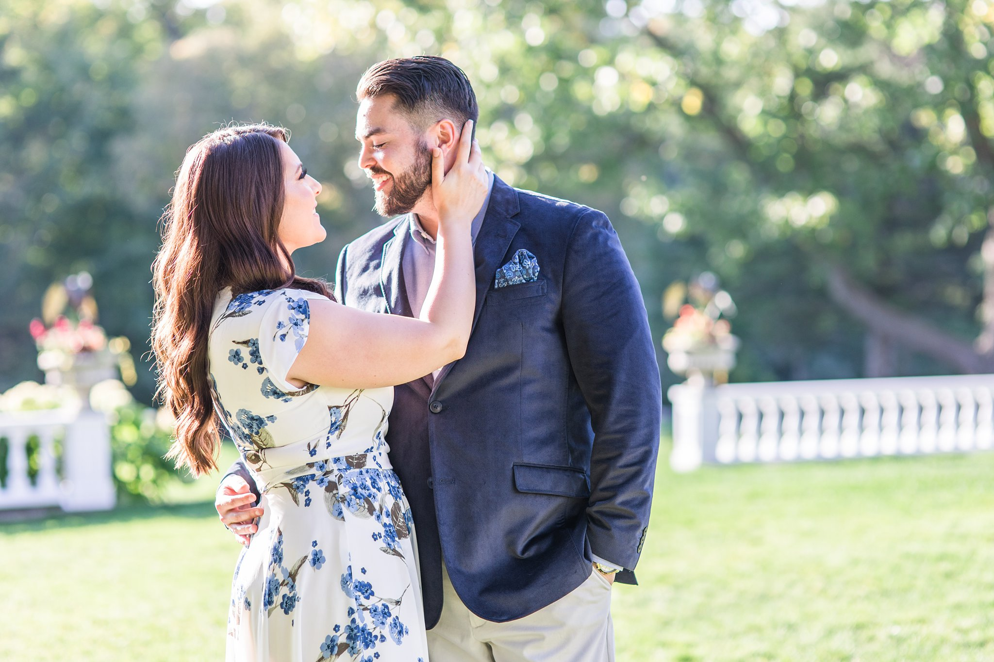 Couple photos, Mackenzie King Estate Engagement Photos by Amy Pinder Photography