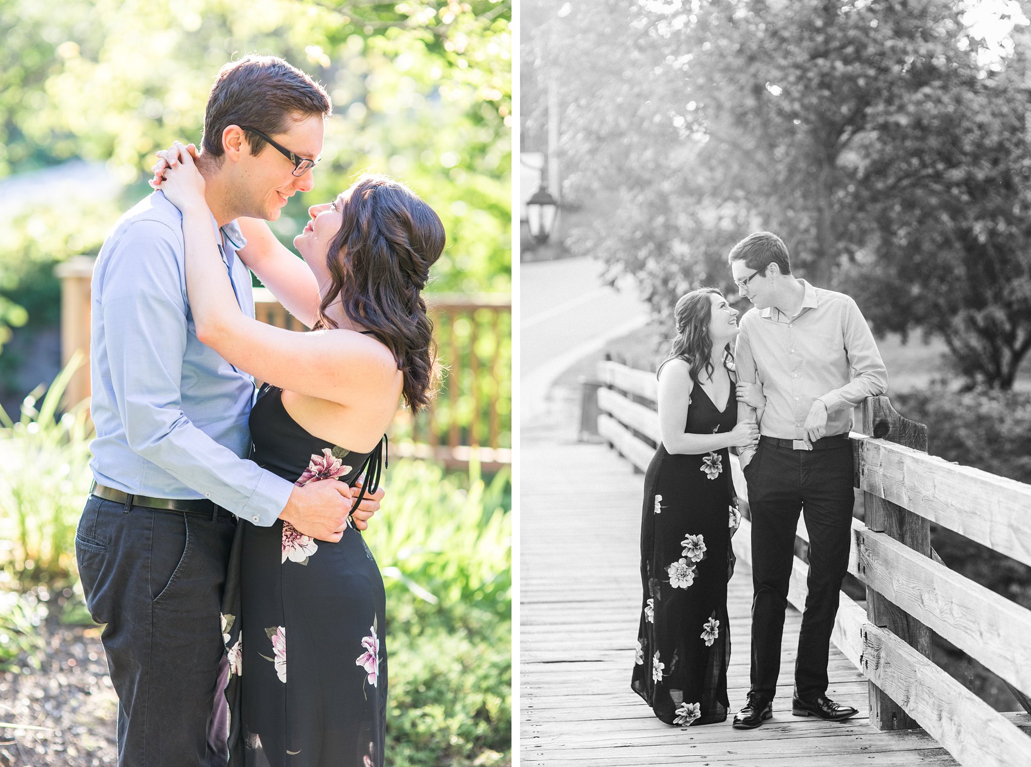 Wakefield bridge, Wakefield Mill Engagement Photos, Amy Pinder Photography