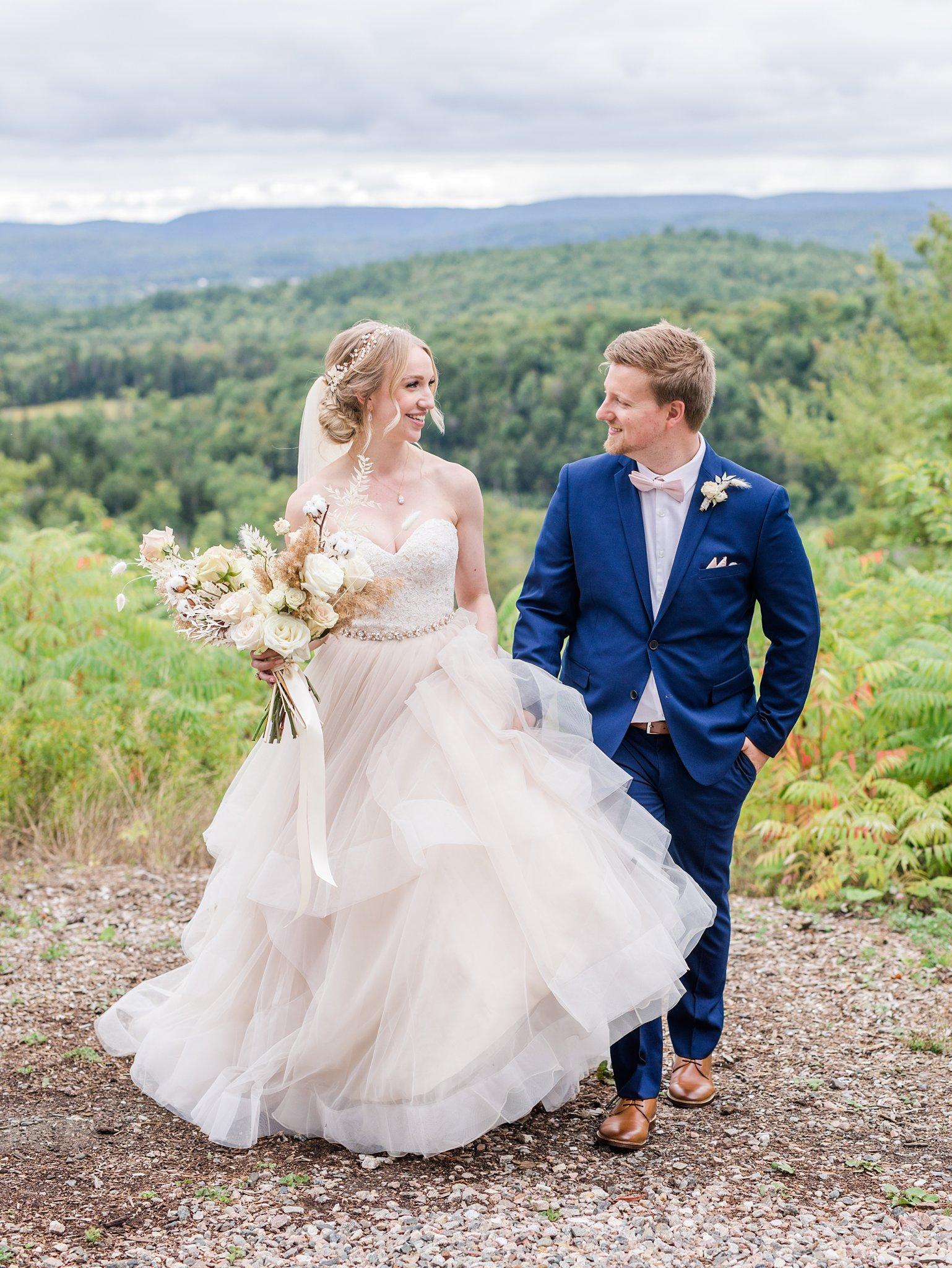 Ballgown wedding dress, Wakefield wedding photos, Le Belvedere