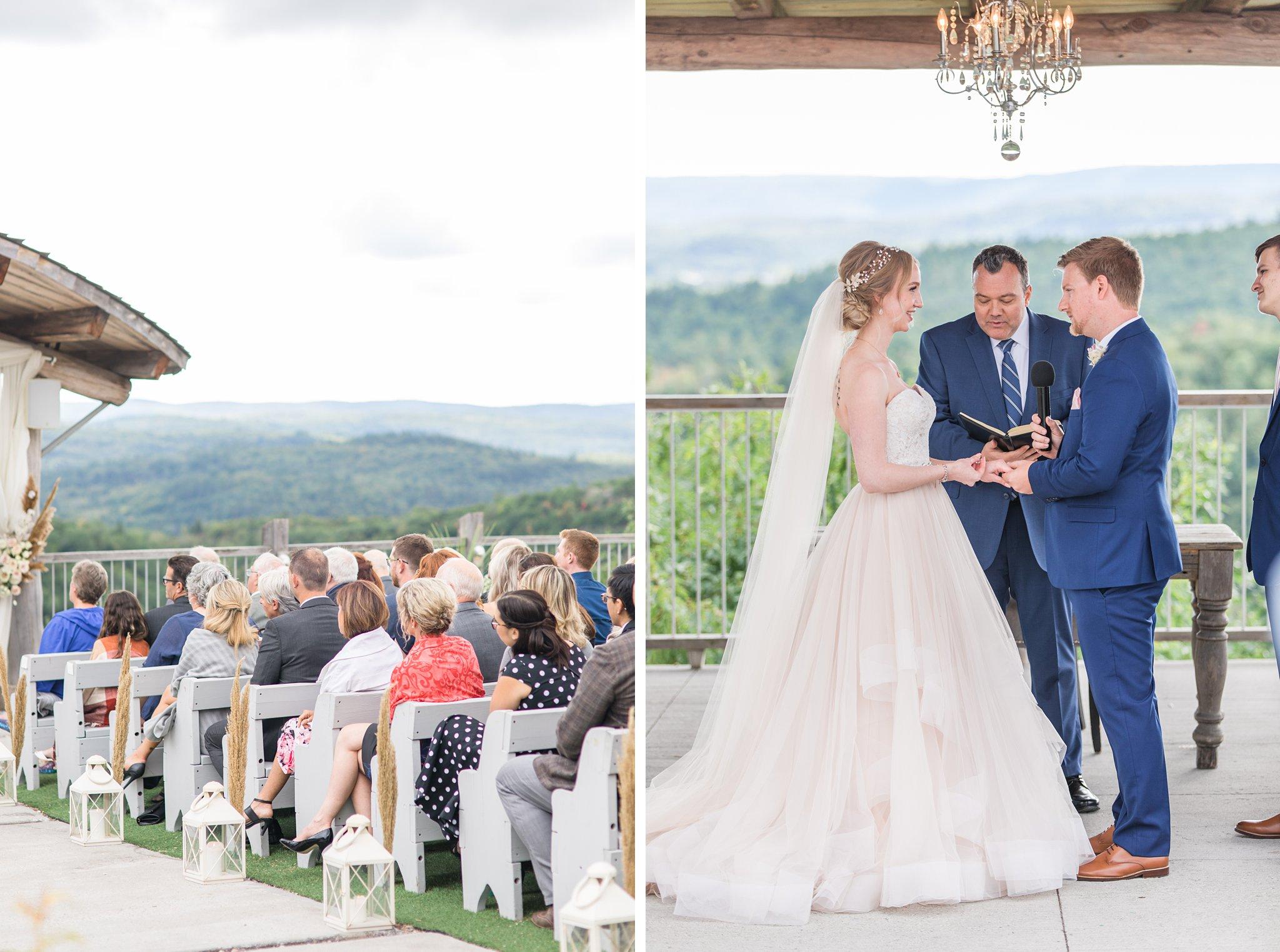 Guests, outdoor wedding, Wakefield wedding photos, Le Belvedere