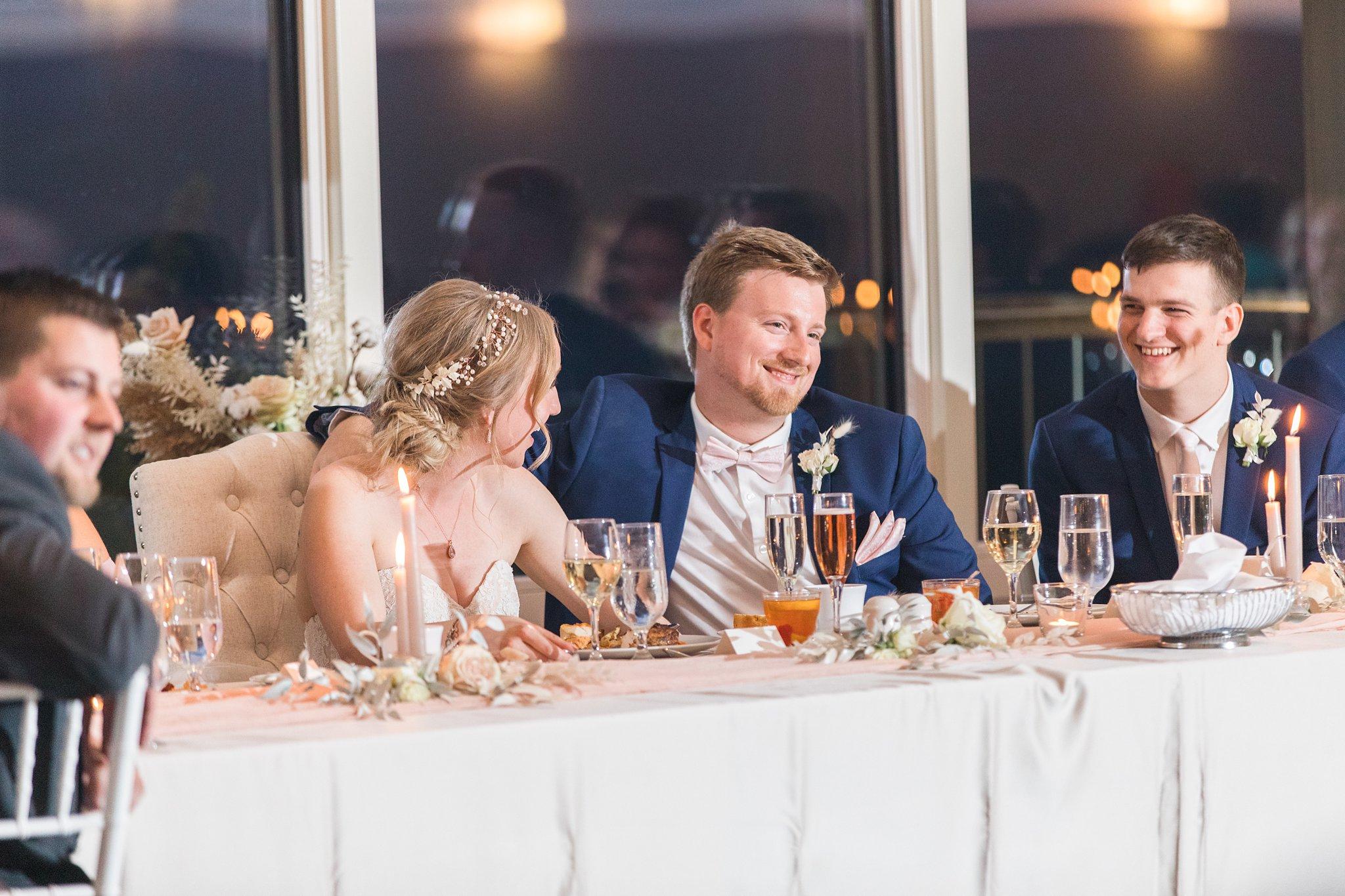 Speeches, Wakefield wedding photos, Le Belvedere