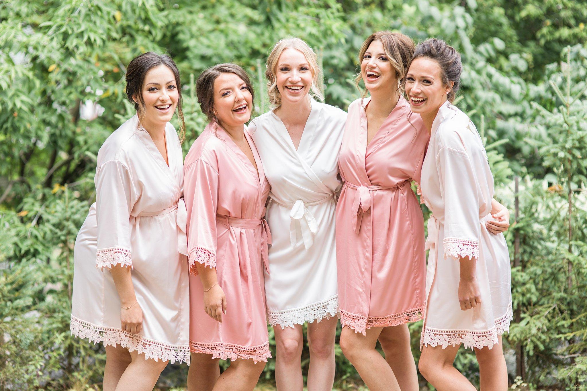 Robe shot, bridesmaids, Belle de Nuit, Wakefield wedding photos, Le Belvedere