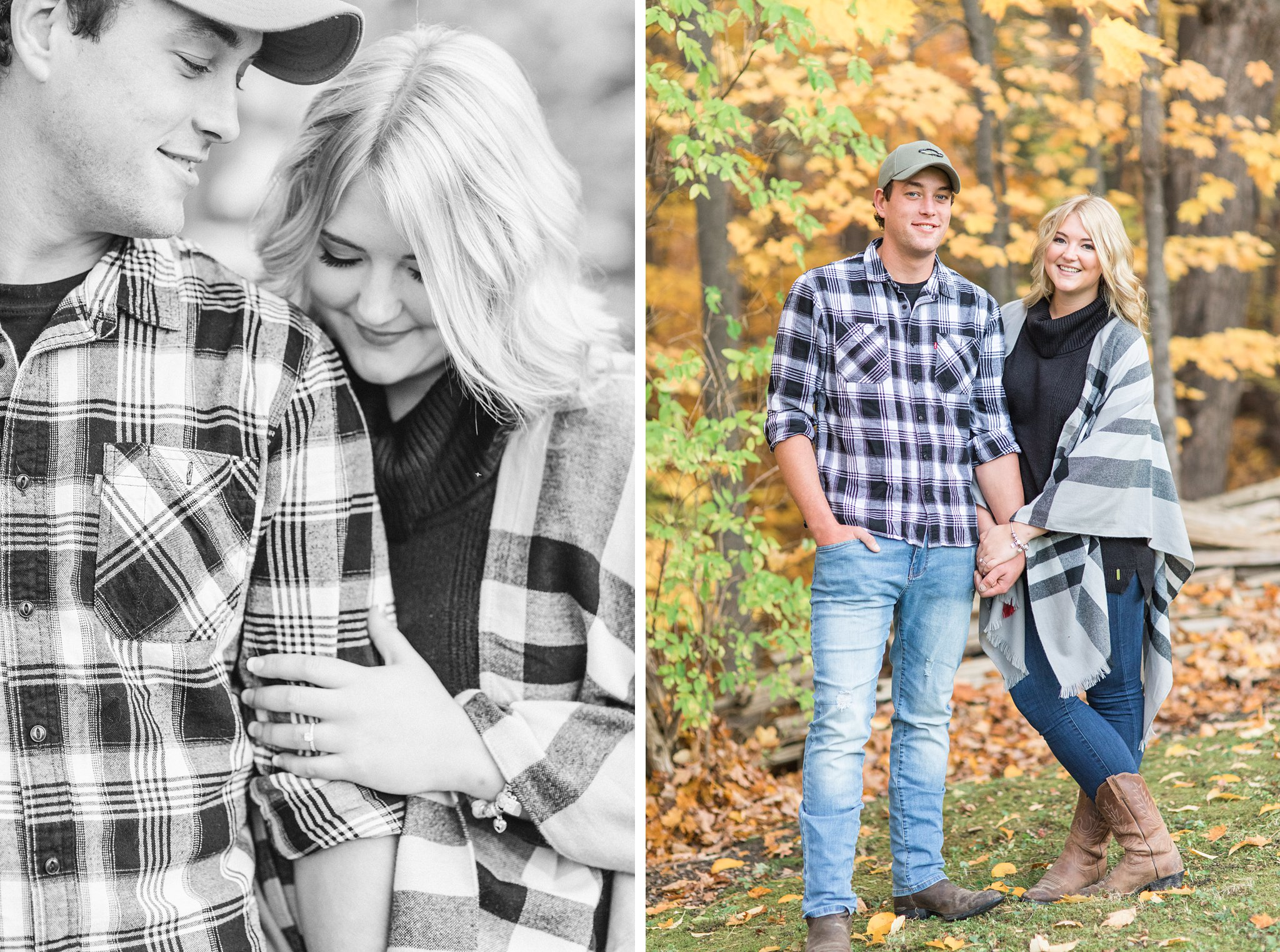 Casual fall outfits Old Chelsea Engagement Photos by Amy Pinder Photography