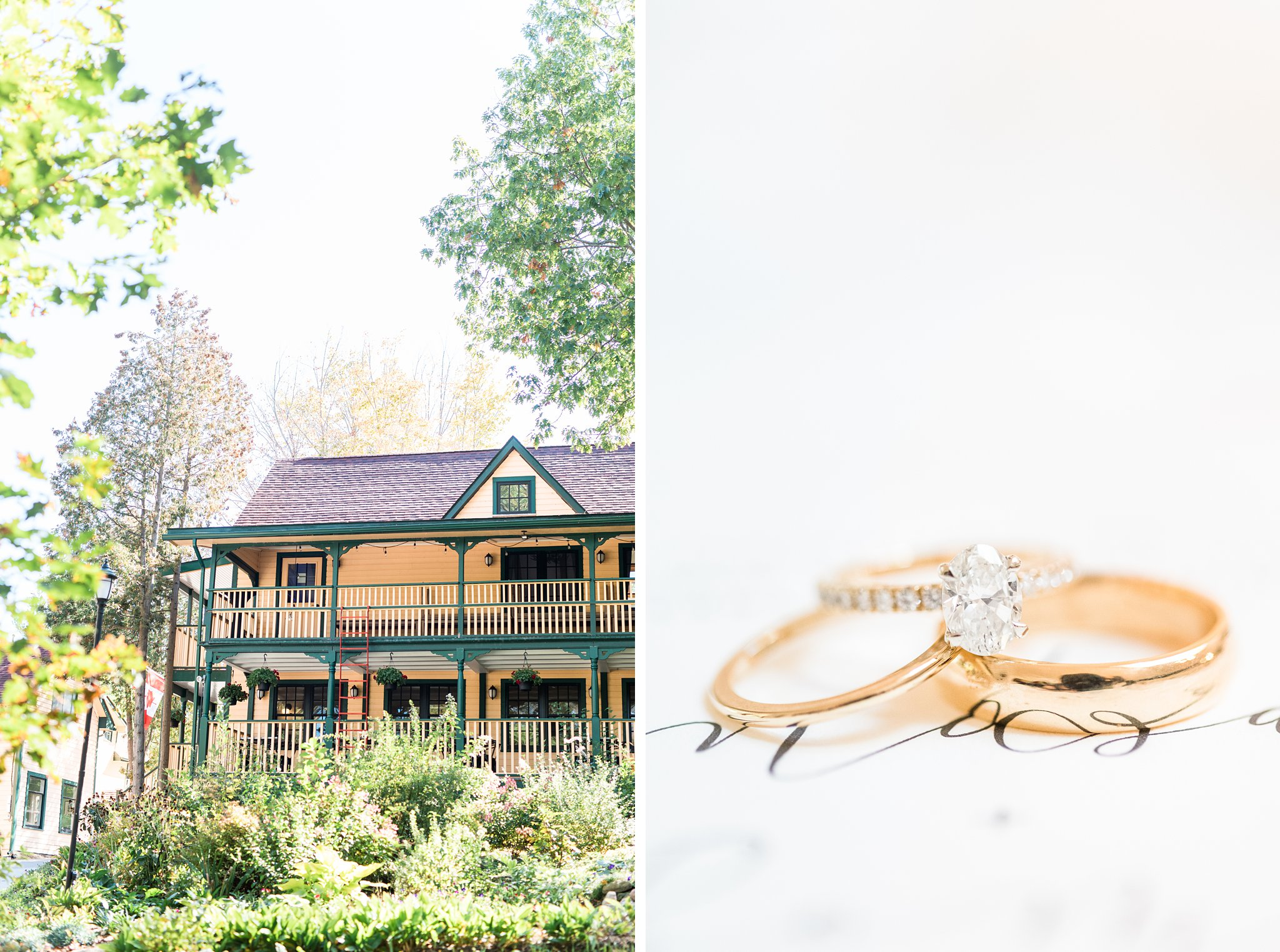 Gold rings, Opinicon Wedding Photos by Amy Pinder Photography