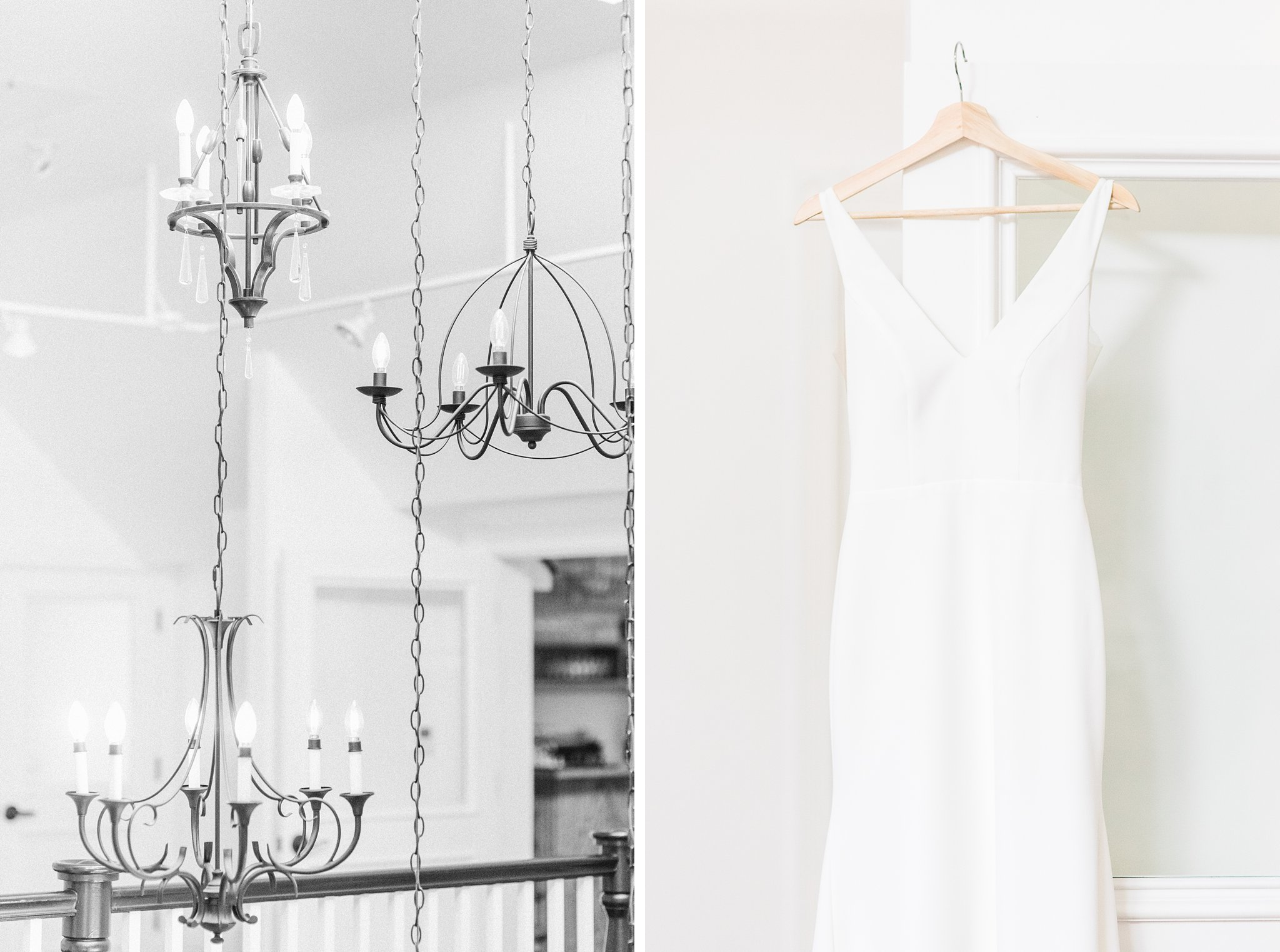 Minimalist wedding dress, Opinicon Wedding Photos by Amy Pinder Photography