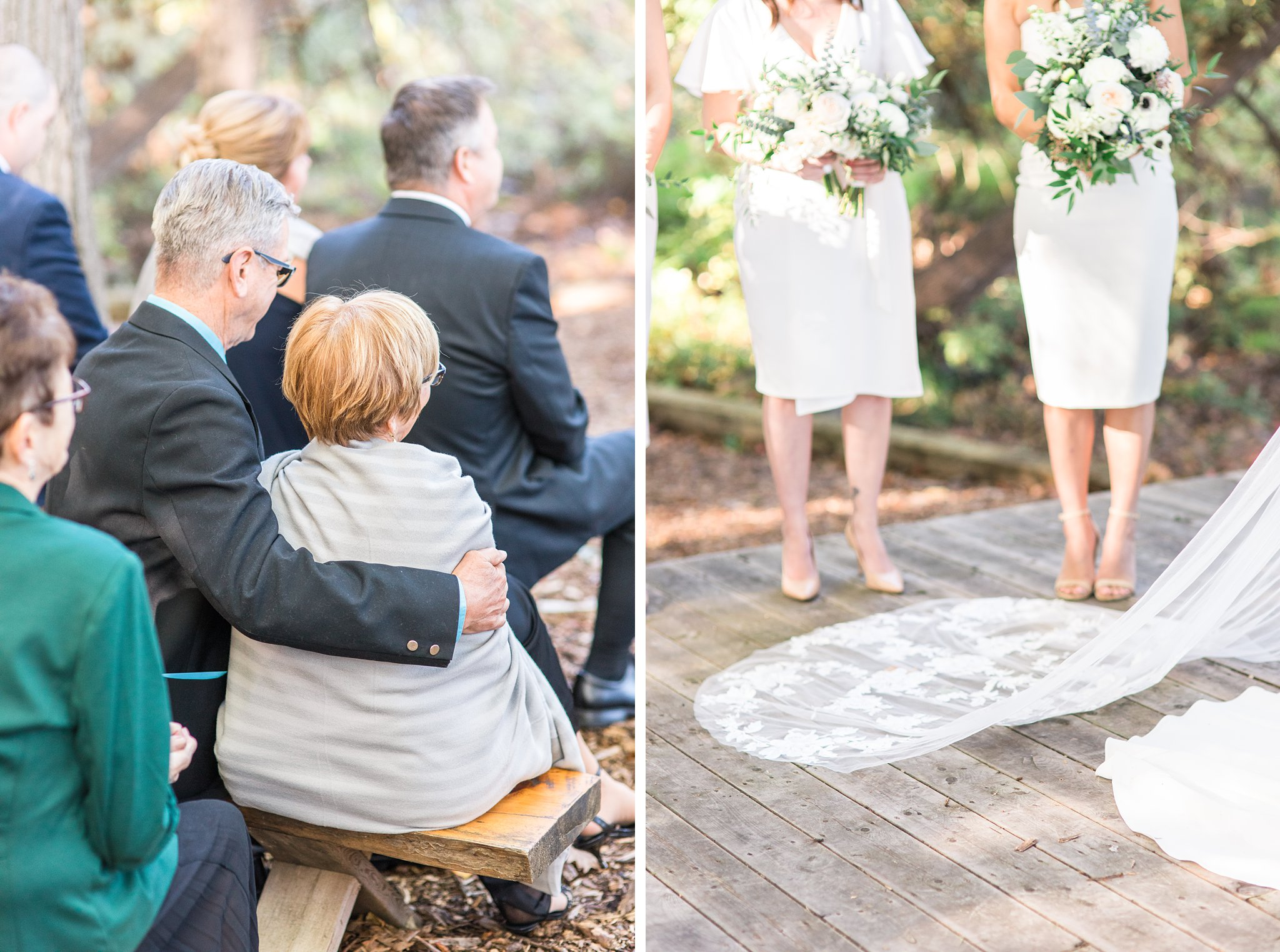 Warm blankets for the guests at the ceremony, Opinicon Wedding Photos by Amy Pinder Photography