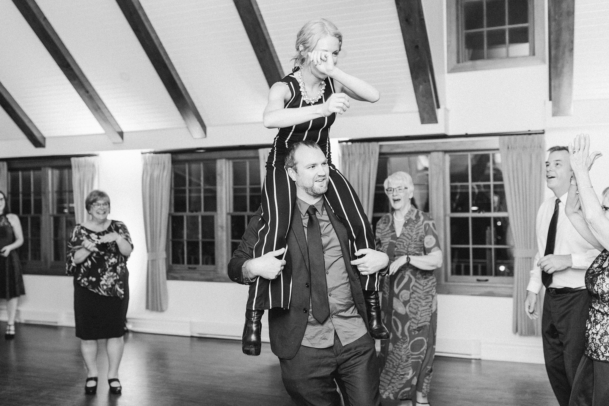 Party dancing at the Opinicon Wedding by Amy Pinder Photography