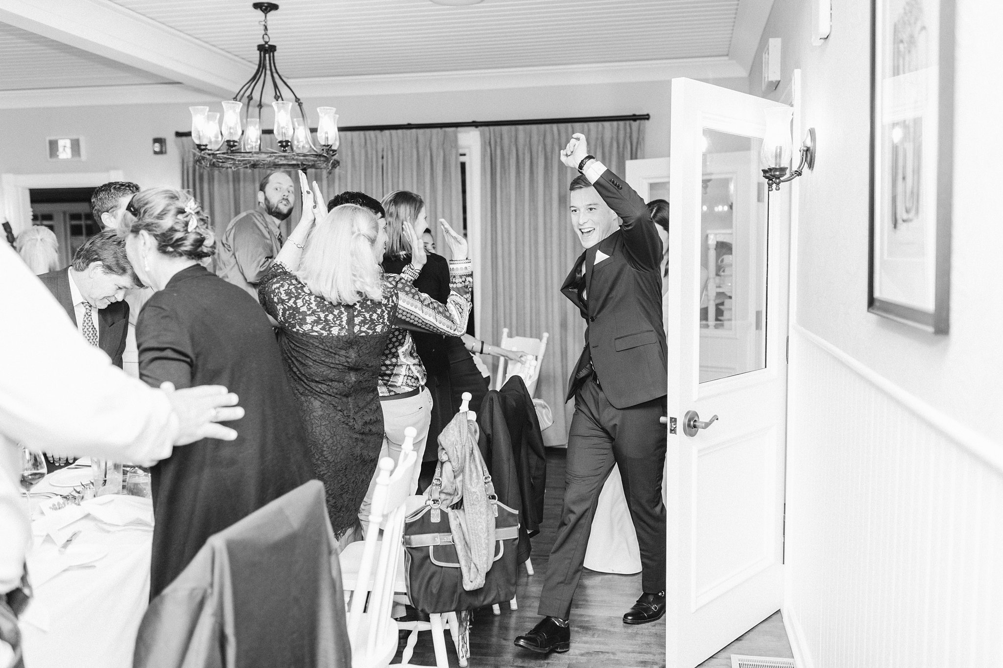 Grand entrance, Opinicon Wedding by Amy Pinder Photography