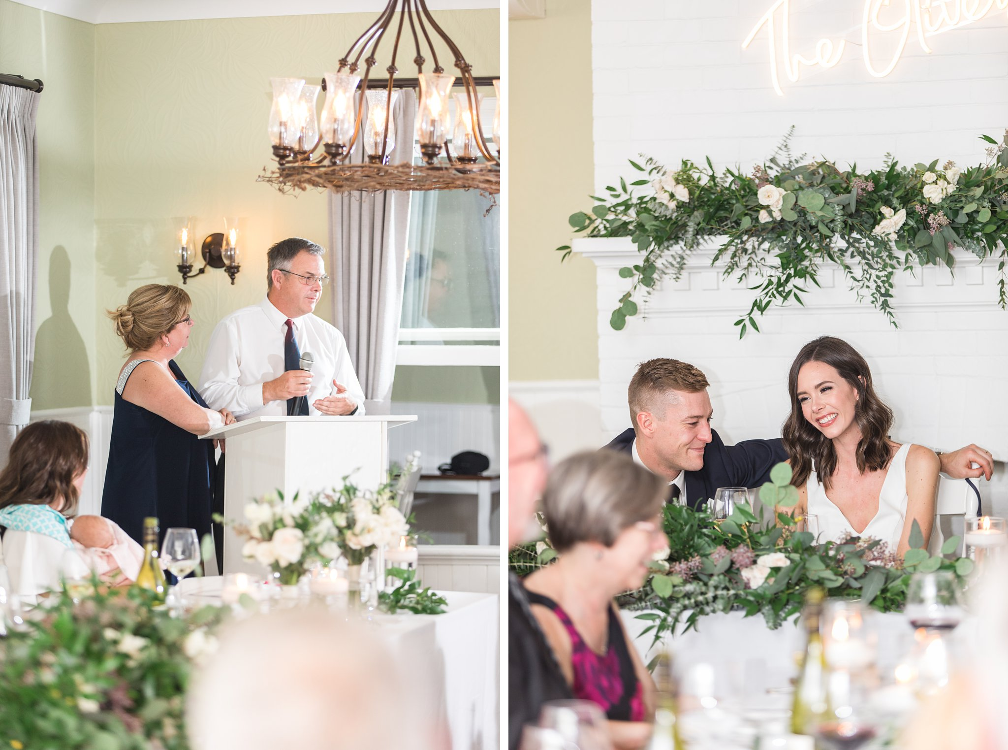 Parents speeches, Opinicon Wedding by Amy Pinder Photography